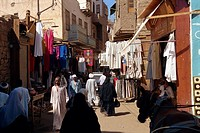 In the bazaar, Aswan, Egypt, North Africa, Africa