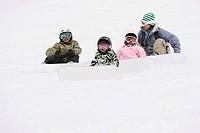 Snowboarding Kids