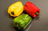 Close_up of bell peppers