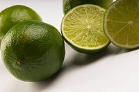 Close_up of limes