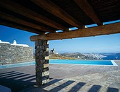 Kazanzmakis House, Mykonos, Greece. Architect: Javier Barba