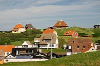 View over Loenstrup village, Jutland, Denmark