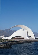 Auditorio de Tenerife, Santa Cruz , Canary Islands. Architect: Santiago Calatrava SA. CalatravaÒs first performing arts building. Cost: Euro 27 040 00...