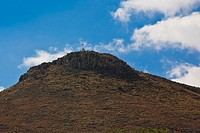 Low angle view of a hill, Real De Asientos, Aguascalientes, Mexico