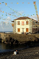 Harbour and old customs house Casa de la Aduana, Tenerife, Canary Islands, Spain