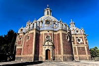 Low angle view of a cathedral, Templo Del Pocito, Mexico City, Mexico (thumbnail)