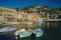 The harbour, Villefranche, Provence, France, Europe