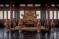 One of the throne rooms Forbidden City, Palace Museum, Beijing, Peoples Republic of China