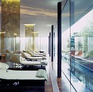 G Hotel, Galway, Ireland _Spa Douglas Wallace Architects and Designers in collaboration with Philip Treacy