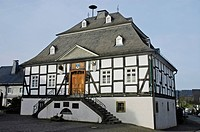 Town hall, Meschede, Sauerland, North Rhine-Westphalia, Germany