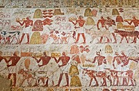 Scenes of arts and crafts, Tomb of Rekhmire, West Bank, Thebes, UNESCO World Heritage Site, Egypt, North Africa, Africa