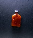 Chilli sauce in bottle