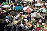 St. George´s Saturday market, Grenada, Windward Islands, West Indies, Caribbean, Central America