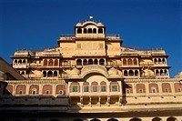 City Palace, Jaipur, Rajasthan state, India, Asia