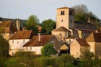 Briant. Brionnais region, Saône-et-Loire, Burgundy, France