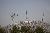 China Beijing Olympic Park National Olympic Stadium The Birds Nest
