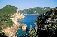 Paleokastritsa, Corfu, Greek Islands, Greece, Mediterranean, Europe