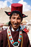 One of the many annual ladakhi festivals Were poeple enjoy to meet and exchange news Wearing their traditional cloth is part of their culture Music an...