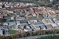 Spain, Catalonia, Barcelona, Vallès Oriental, Sant Celoni, Molí de les Planes industrial area