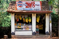 Village shop, Hindu Ponda, Goa, India, Asia