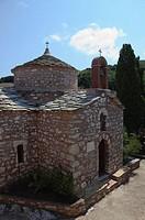 Monastery Agia Varvara, Skopelos, Sporades Islands, Greek Islands, Greece, Europe