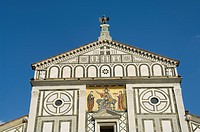 San Miniato al Monte church in the Oltrarno district, Florence Firenze, Tuscany, Italy, Europe