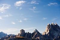 Peaks, Dolomites, Italy, Europe