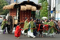 Jidai Matsuri, Festival of the Ages, procession, Kyoto city, Honshu, Japan, Asia