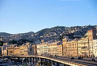 Port, Genoa Genova, Liguria, Italy, Mediterranean, Europe