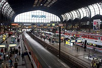 Hamburg Central Train Station, Hamburg, Germany, Europe