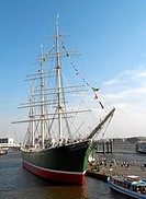 Museum_ship Rickmer Rickmers, Hamburg, Germany