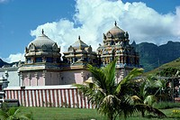 Hindu shrine, Mauritius, Africa