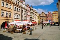 Town Suare, Jelenia Gora, Silesia, Poland, Europe