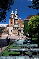 Wawel cathedral and castle, Krakow, Makopolska, Poland, Europe