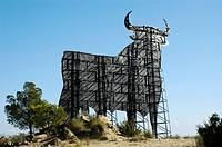 Jerez Osborne bull, Benidorm, Costa Blanca, Spain