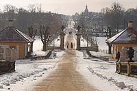 Park of Moritzburg castle near Dresden, Saxony