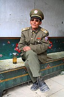 Retired Chinese Army soldier