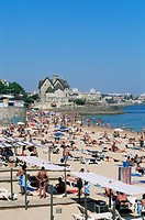 The beach, Cascais, Portugal, Europe
