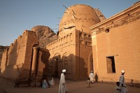 The Khatmiyah mosque at the base of the Taka Mountains, Kassala, Sudan, Africa