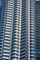 Close_up of part of the Ampang Tower, Kuala Lumpur, Malaysia, Southeast Asia, Asia