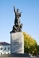´Latgales Mara´ monument commemorates the liberation of Latgale from the Bolsheviks in January 1920 and is the symbol of the Latgalian nationalism, Re...