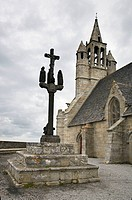Church of Notre-Dame de la Joie, Penmarch. Finistere, Brittany, France