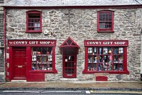 Gift shop, Conwy, Wales, UK