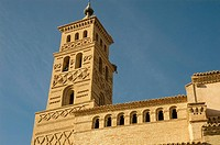 Church of Santa Ana, Alcubierre. Huesca province, Aragon, Spain