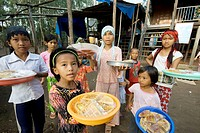 Cham people, Muslim community, Chau Doc, Vietnam