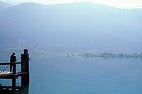 Lake Annecy, Haute-Savoie, Alpes, Alps (thumbnail)