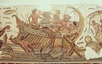 Triumph of Neptune, Bardo Museum, Tunis, Tunisia, North Africa, Africa