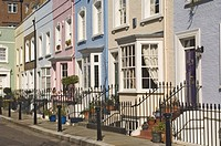 A street in Chelsea, London, England, United Kingdom, Europe