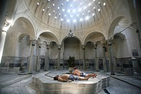 Cagaloglu Turkish Bath, Istanbul, Turkey, Europe
