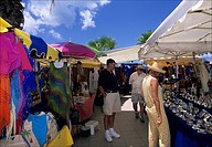 The Marigot market in Saint_Martin French Antilles